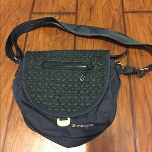 Dark Teal Sherpani purse